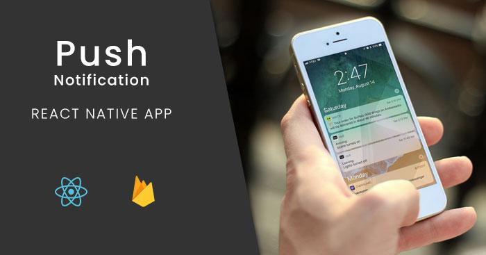 How to setup Firebase Push Notifications in react native